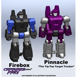 Mastershooter Collectibles: Pinnacle & Firebox EXCLUSIVE