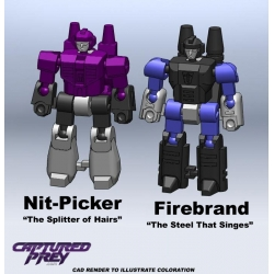 Mastershooter Collectibles: Nit-Picker & Firebrand EXCLUSIVE