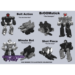 Shooter Masters - Four Pack + FREE BONUS FIGURE!