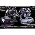 APS-03 HA Barricade & Soundwave 2-Pack