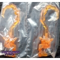 UFO Toys: Leader Optimus Battle Hooks (Clear Hilt)