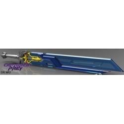 Dr. Wu: TP-08 Skybreaker Sword - Blue