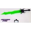 Dr. Wu: TP-09 Dark Tyrant Sword (Green)