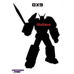 Unique Toys: DX9 D-17 Giuliano (Attila)
