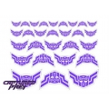 Evil Autobot Elite Guard Emblems - Purple