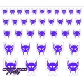 Evil Maximal Emblems - Classic Purple