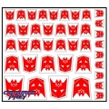 Heroic War Within Decepticon Emblems