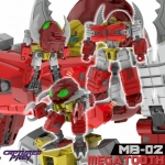 Fans Hobby: MB-02 Megatooth