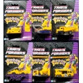 Constructicons - Euro Yellow &amp; Grey Set of Six