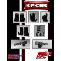 KFC Toys: KP-06B Hands & Gun for Black MP-10