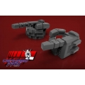 KFC Toys: KP-09 Hands for MP-24 (Gray)