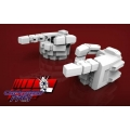 KFC Toys: KP-09 Hands for MP-24 (White)