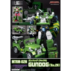 Maketoys: RM-02N Gundog Cartoon Version