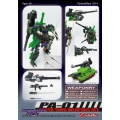 Perfect Effect: PA-01 Super Tank Weapon Set