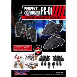 Perfect Effect: PC-01 Combiner Upgrade (Black)