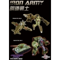 TFC Toys: Iron Army Set B - T-34 & J-7