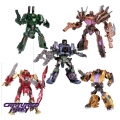 Takara Generations TG-03 to 07 Bruticus Set of Five